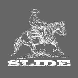 Sliding Stop Westernreiter Reining