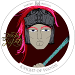 Knight of Wands | Ritter der Stäbe Tarot Karte
