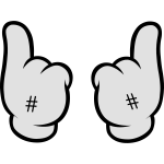 Comic Hands (Hashtag)