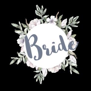 Bride Greenery & Blüten Braut