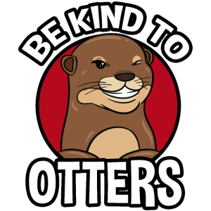 Be Kind To Otters Otter Anti Mobbing Nett Geschenk