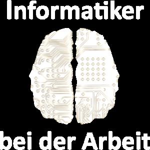 Informatiker bei der Arbeit,Student,Gehirn, Nerd