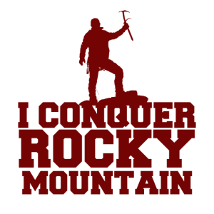 Conquer Rocky Mountains | Outdoor T-Shirt