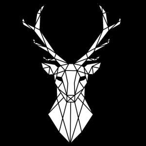 Geometric Deer / Geometrischer Hirsch
