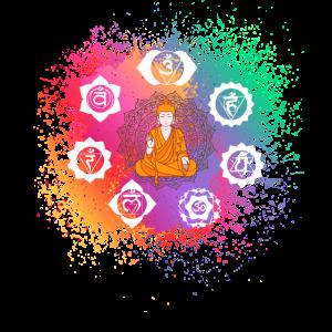 Chakra - Chakren, Buddha, Buddhismus, Yoga