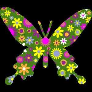 Blumenschmetterling