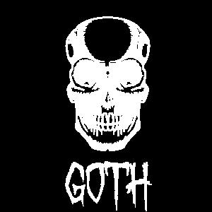 Schädel - Goth - Geschenkidee