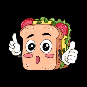 Sandwich Essen Feinschmecker Geschenk
