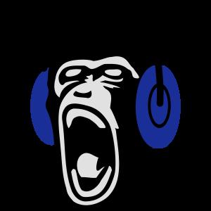 Singender Affe