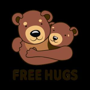 Umarmungen sind umsonst - Free Hugs forever