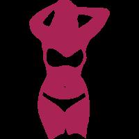 runde sexy frau silhouette 704