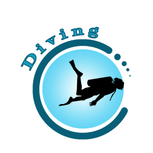 Diving Circle With Dots Diving 4 G
