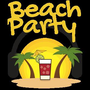 Beach Party Summer Sun shirt design