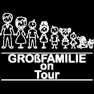 Grossfamilie on Tour Geschenk
