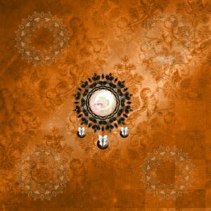 Wunderbare dekorative Mandala mit Blumen