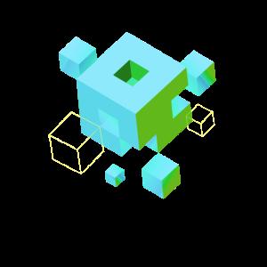 würfel pixel 3d nerd game mind craft pc virtual lo