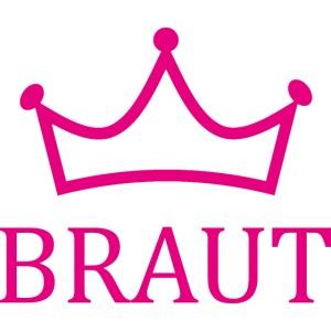 Braut Krone pink Junggesellinnenabschied