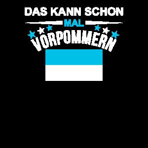 Flaggen Wortspiel Geschenk Vorpommern Lustig Witz