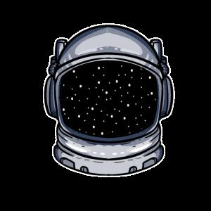 Astronaut Weltall Planet Geschenk Sterne