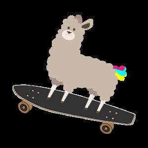 Alpaka Skateboard Longboard