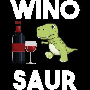 Wein Dino Süß Winosaur Weintrinke Rotwein