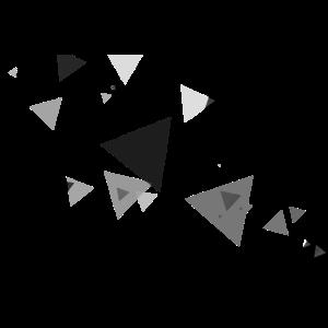 Abstrakte kust minimalistisch dreieck