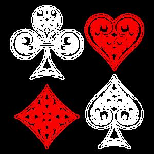 Poker Symbole