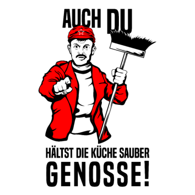 Designs zum Thema:Genosse | Genosse-T-Shirts und Hoodies selbst