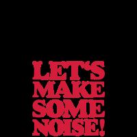 DJ Headphone Kopfhörer Let's make some noise