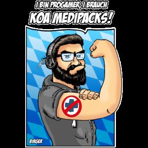 Progamer brauchan koa Medipacks!