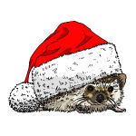 christmas_hedgehog