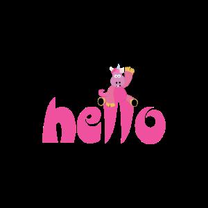 Einhorn hello Unicorn