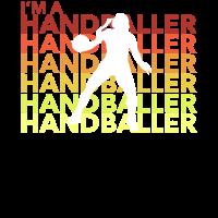 I'm A Handballer Handballerin Frauen