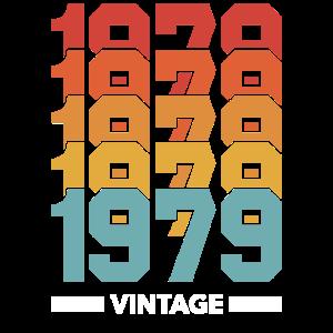 Vintage 1979. 40. Geburtstag