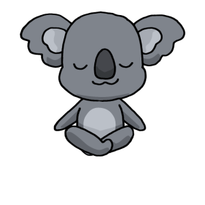 Yoga Koala Meditation Yogi Namaste Geschenk