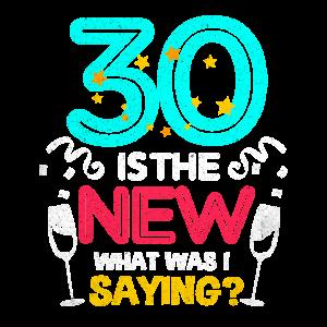 30 Geburtstag