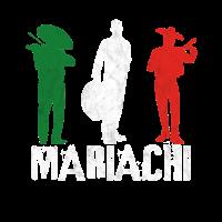 Mexico Skelett Mariachi Totenkopf Gitarre Musik