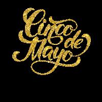 Cinco de mayo Mexiko Mexikaner Latino Gold