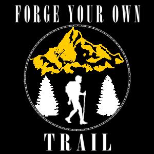 Wandern Wanderer Natur Berg Wälder Gipfel Geschenk