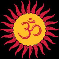 Om Sonne, Buddhismus, Yoga, spirituell, Meditation