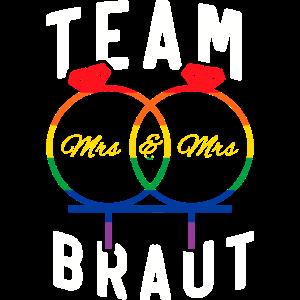 Homo JGA Team Braut