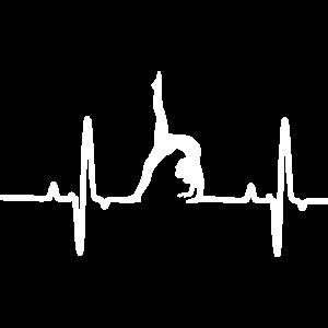 yoga uebung puls white