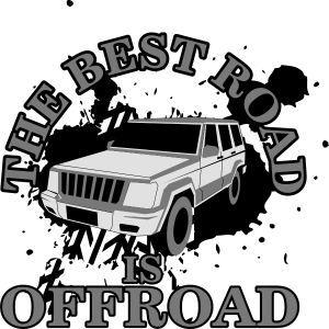 The best road is offroad