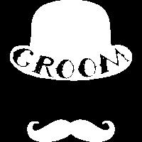 Groom Bräutigam Schnurrbart Hut