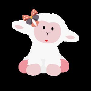 Schafskostüm für Nutztier-Themenparty