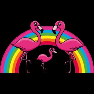 Flamingo Regenbogen