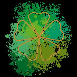 Four Leaf Clover St Patrick's Day