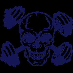 Totenkopf Halfter Bodybuilding Bodybuilding Kran