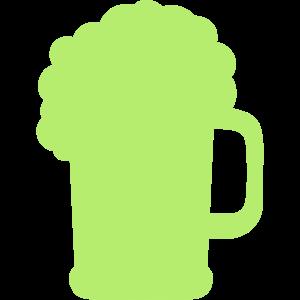 Bierglas-Alkohol-Symbol 24