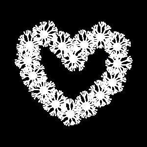 Pusteblumen Herz Liebe Fruehling Geschenk